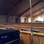 Photo taken at Bedford Community Church by Wesley C. on 2/20/2014