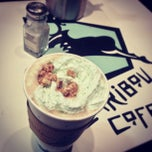 Photo taken at Caribou Coffee by Griffin C. on 3/15/2013