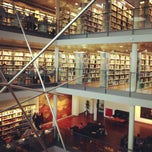 Photo taken at CBS Library by Marguerite A. on 10/17/2012