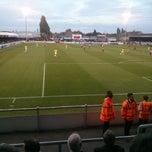 Photo taken at The London Borough of Barking & Dagenham Stadium by Adam H. on 8/12/2014