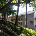 Photo taken at Robert Black College HKU by Xina L. on 2/2/2014