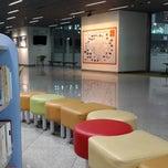 Photo taken at 고양종합운동장 실내체육관 수영장 by DaeHyun K. on 2/9/2014