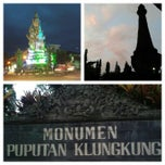 Photo taken at Monumen Puputan Klungkung by Komang S. on 2/2/2014