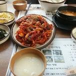 Photo taken at 시골길 낙지볶음 by Jae Sung S. on 2/1/2014