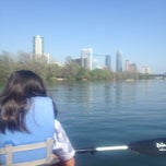 Photo taken at Rowing Dock by Juan M. on 3/23/2013