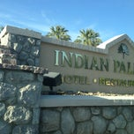Photo taken at Indian Palms Country Club & Resorts by Yodit T. on 4/12/2013