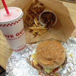 Photo taken at Five Guys by Michelle M. on 12/11/2012