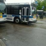 Photo taken at Williamsburg Bridge Bus Terminal by Brimm on 5/22/2012