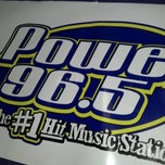 Photo taken at Power 96.5 Studio by Simon N. on 10/5/2012