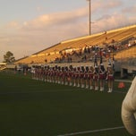 Photo taken at Stallworth Stadium by Anthony S. on 9/21/2012