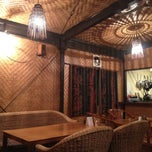 Photo taken at monsoon食堂 by Gonggui A. on 3/17/2013