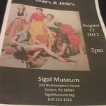 Photo taken at Sigal Museum by matt m. on 8/12/2012