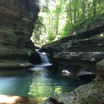 Photo taken at Buttermilk Falls State Park by Jon M. on 6/19/2013