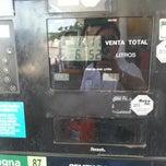 Photo taken at Gasolinera PEMEX by Victor Eduardo C. on 7/19/2014
