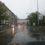 Photo taken at бул. Васил Левски (Vasil Levski Blvd) by Дилян П. on 4/10/2014
