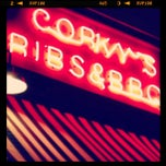 Photo taken at Corky's BBQ by Michael C. on 12/22/2012