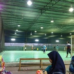 Photo taken at Galaxy Futsal Bangi by Faiz on 11/10/2012