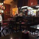 Photo taken at Fedora Cafe by Trevor R. on 12/20/2014