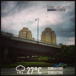 Photo taken at Bishan Flyover by Ma S. on 4/7/2013