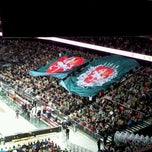 Photo taken at Žalgirio Arena | Zalgiris Arena by Liudas J. on 11/30/2012