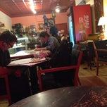 Photo taken at Cahoots Coffee Bar by Latifa O. on 9/10/2014