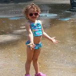 Photo taken at Vincent B. Abate Playground by Johanna B. on 7/22/2014