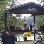 Photo taken at Tarara Winery by Lisa K. on 9/22/2012