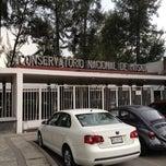 Photo taken at Conservatorio Nacional de Música by Horacio Z. on 5/9/2012