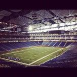 Photo taken at Ford Field by Jonny B. on 10/30/2012