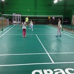 Photo taken at Dewan Badminton BCB by Annie L. on 11/29/2013
