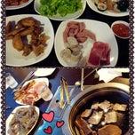 Photo taken at Blue Garden Korean BBQ Restaurant by Serlin L. on 3/16/2014
