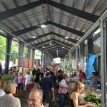 Photo taken at Fulton Street Farmer's Market by Kelly K. on 6/29/2013