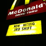 Photo taken at McDonald's by Duane D. on 1/14/2013