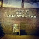 Photo taken at Jallianwala Bagh by Jatinder P. on 10/18/2014