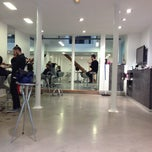 Photo taken at Y Coiffure by Mat D. on 4/4/2014