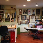 Photo taken at Monocle Tattoo by James S. on 3/31/2014