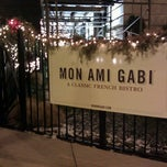 Photo taken at Mon Ami Gabi by Kevin B. on 12/31/2012