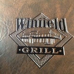 Photo taken at Winfield Grill by Cricklizard B. on 1/31/2013