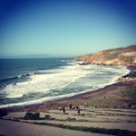 Photo taken at Pacifica State Beach by Arman S. on 2/17/2013