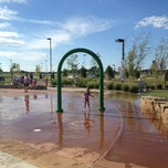 Photo taken at Splash Pad by Brandi D. on 7/29/2013