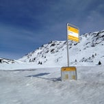 Photo taken at Julierpass by Martin W. on 4/3/2013