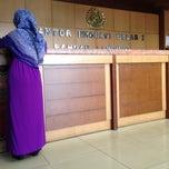 Photo taken at Kantor Imigrasi Kelas I Bandar Lampung by Angger A. on 5/13/2014