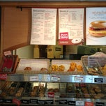 Photo taken at Bruegger's by Jamie C. on 8/18/2013