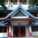 Photo taken at Semesta Billingual Boarding School by sinta p. on 7/13/2013