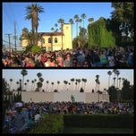 Photo taken at Cinespia @ Hollywood Forever Cemetery by Rick E. on 5/27/2013