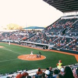 Photo taken at Disch-Falk Field by Aaron U. on 3/13/2013