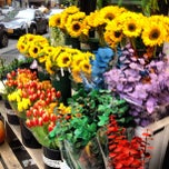 Photo taken at Flower District by Anton N. on 10/28/2012