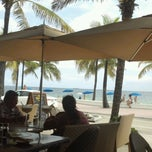 Photo taken at Cafe del Mar by Angel on 10/7/2012
