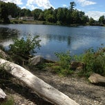 Photo taken at Milton River Park by Rugby X. on 9/3/2013