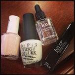 Photo taken at Looks nail salon by Adrianna on 5/3/2013